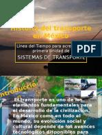 Historia Del Transporte en México