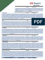 IEA Report 27th January