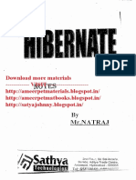 Hibernate - Natraj - Satya