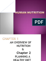 Nutrition and Diet Therapy Chapter 1