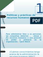 Políticas y Prácticas de Recursos Humanos