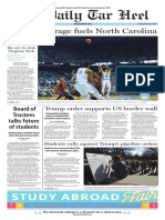 The Daily Tar Heel for Jan. 27, 2017