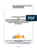 MEGA Facility Management Tender