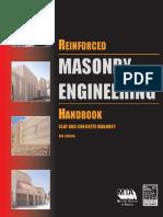 Reinforced Masonry Engineering Handbook .6th.ed.Sec