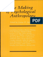 Making of Psychological Anthropology