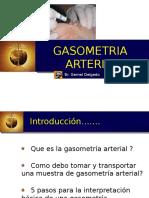 La gasometría arterial