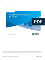 Introduction to GeoEvent Processor - Module 1