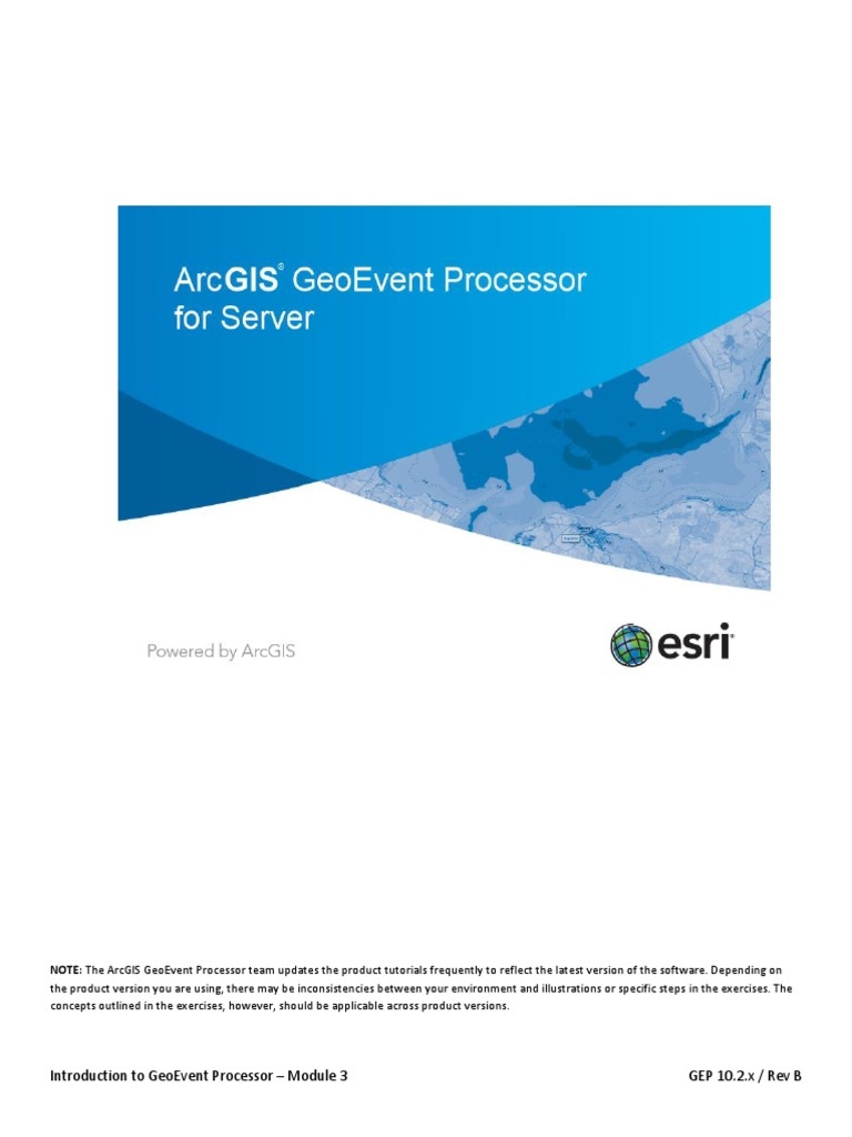 Arcgis geoevent extension for server: applying real-time analytics.
