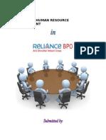 Strategic Human Resources Management