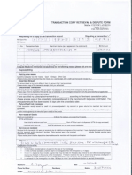 SCB Card Dispute Form