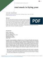 How Internet music is frying your brain - Adam Harper
