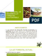 Ley General de Desarrollo Forestal Sustentable