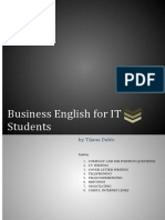 Business English for IT Students Skripa