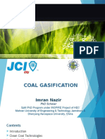 Coal Gasification for JCI