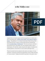 Lessons From the Mallya Case