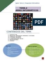 Tema 2 Programas Informaticos