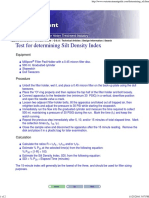 Determining SDI