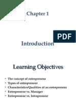 Chap 001 Entrepreneurship