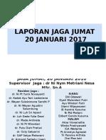 Sensus Jaga Jumat 20 Januari 2016