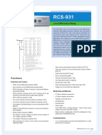 Flyer - RCS-931 Line Differential Relay