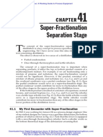 41 Superfractionation Seperation Stage
