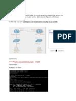 Hostname- DNS Resolution Lab