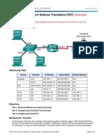 5.2.3.7 Lab - Configuring Port Address Translation (PAT) - ILM.pdf