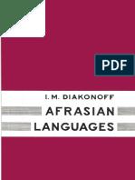 Diakonoff - Afrasian Languages (1988)