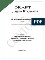 Contoh Perjanjian Kerjasama Urugan