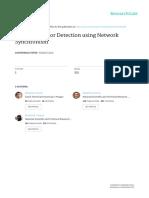 Botnet Behavior Detection Using Network Synchronism 39JAIIO AST