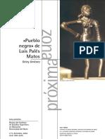 """Pueblo Negro"" de Luis Palés Matos"