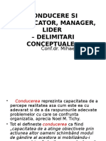 curs 1 CONDUCERE SI CONDUCATOR, MANAGER, LIDER.ppt