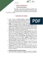 Lírica Trovadoresca Cantigas de Amigo Ficha Informativa