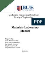 Experimental Lab Manual