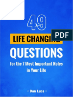 [TDLB] 49 Life Changing Questions