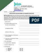 Vendor Empanelment Form