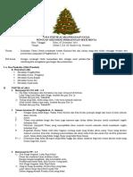 Tata Tertib Acara Perayaan Natal