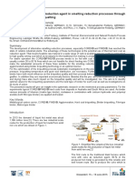 Use of Hard Coal Fines as Reduction Agent in Smelting Reduction Processes Through Briquetting