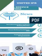 United IPR Newsletter – Unauthorized Sale viz-a-viz Direct Selling