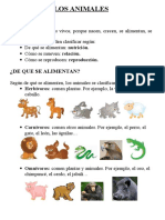 56048609 Tema Animales Conocimento 3º Primaria
