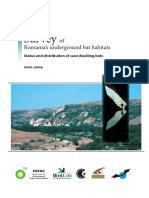 Pesteri Coordonate Carpati Dobrogea Zoltan Romania Bats Final Report