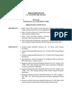 75 2013 SK Kebijakan APD (Tidak Dipakai Lagi)