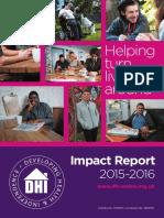 DHI 2016 Impact Report