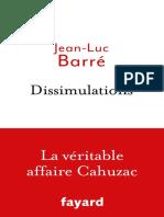 Dissimulations La Véritable Affaire Cahuzac (2016)