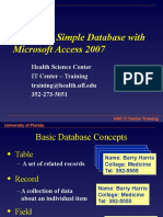 Access2007 2 Creating a Database