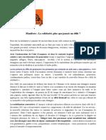 Manifeste La Solidarite Plus Que Jamais Un Delit 12-01-17