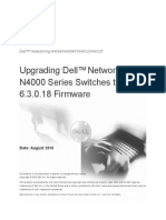 Upgrading Dell Networking N4000 Series Switches From Version 6.x.x.x to 6.3.0.18