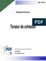 Torseur de Cohesion INSA Partie 1