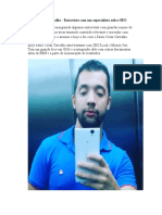 Paulo César Carvalho - Entrevista Com Um Especialista Sobre SEO