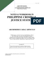 Manual Criminal Justice System